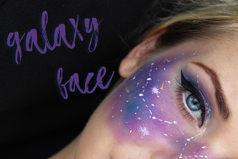 Galaxy Face | Haloween Make Up