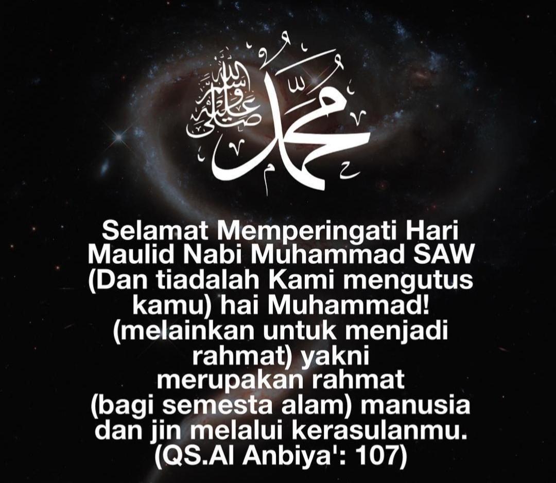 Salam Maulidur Rasul 1442 H Bersamaan 29 Oktober 2020