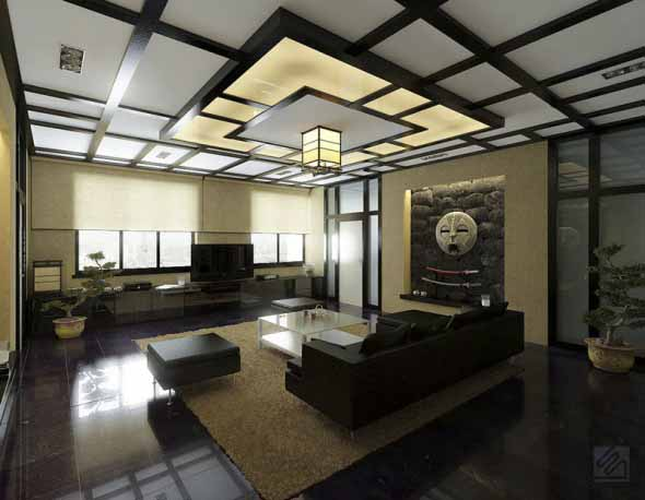 10 Desain Interior Cantik Untuk Ruang  Tamu Modern