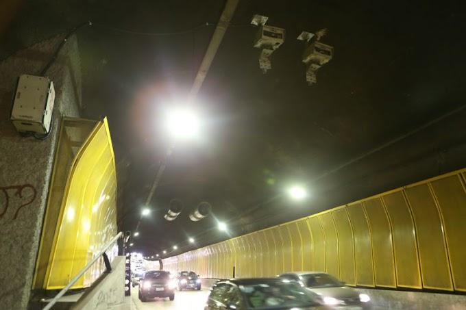 Radares são instalados em quatro túneis de São Paulo pela Prefeitura