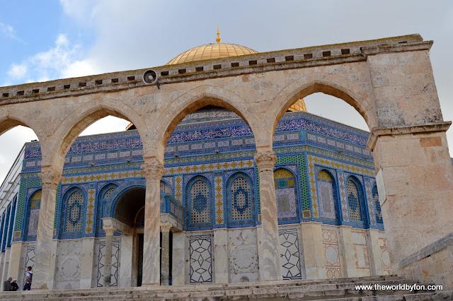 Domo da Rocha, Jerusalém, Israel.