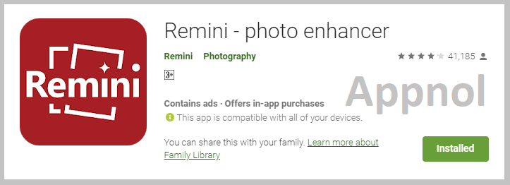 Remini Photo Enhancer - Convert Your Low Quality Photo to High Quality Photo in Few Seconds