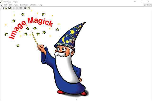 تنزيل برنامج ImageMagick عرض وتحويل وتحرير الملفات الرسومية مجانا