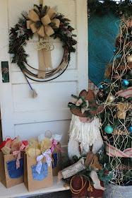 Lasso Wreath for Christmas
