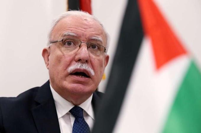 ''Normalizar lazos con la entidad sionista supone apoyar los crímenes contra los palestinos'' El canciller palestino critica a los países árabes que establecieron lazos con Israel.