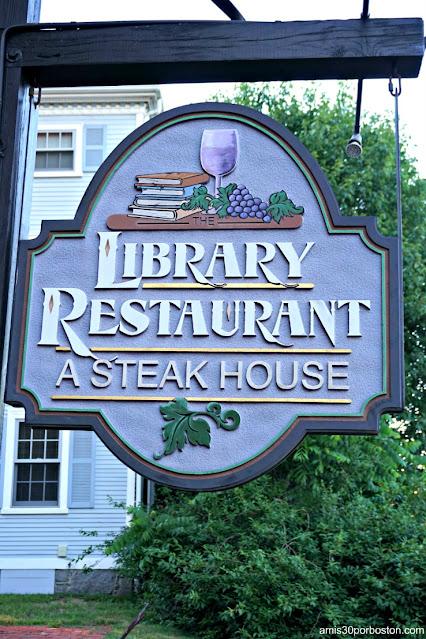 Library Restaurant en Portsmouth, NH