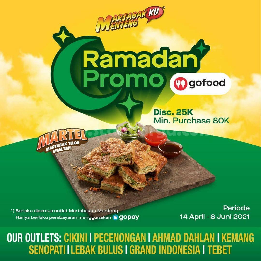 MARTABAKKU MENTENG Promo RAMADAN – Diskon Rp 25.000 via GOFOOD