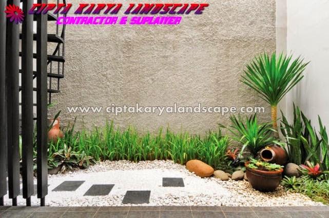 Tukang Taman Jakarta | taman kering | CIPTA KARYA LANDSCAPE : jasa tukang taman