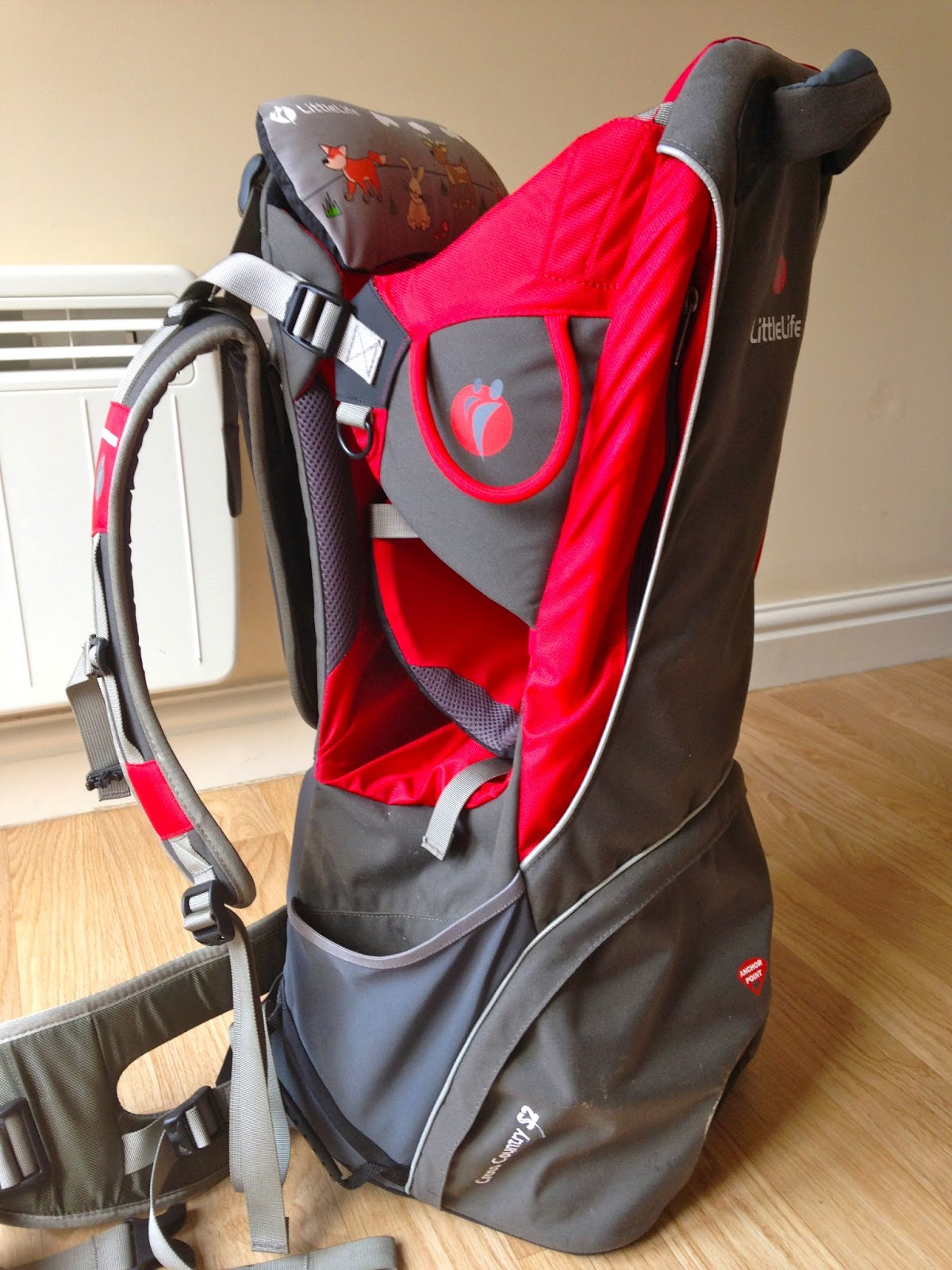 65a4b2ffb5a We brought the Little Life Carrier for my partner's birthday, we thought it  would be really handy as we like nothing more than going for brisk walks  with ...