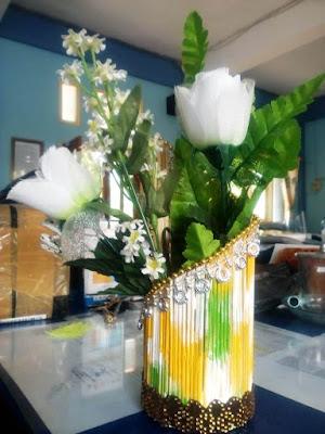 Vas Bunga Bahan Tusuk Sate [Kode : A03]