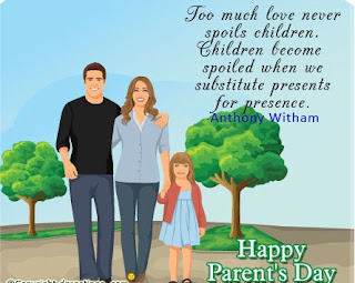 parents day quotes card - Parents Day Quotes