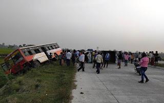 राष्ट्रीय राजमार्ग पर रफ्तार की मार, एक की मौत, चार घायल | #NayaSaberaNetwork