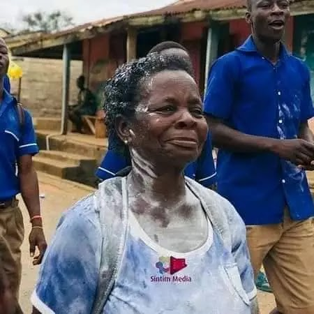 Education Is Good - 57 Years Old Woman Celebrated After She Finished Her Junior WAEC(Reactions)