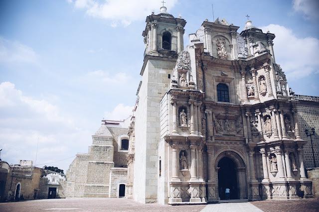 Church Oaxaca City Mexico Travel