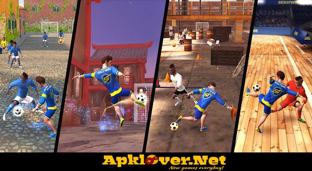 SkillTwins Football Game 2 MOD APK unlimited money & unlocked