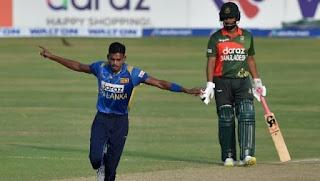 Dushmantha Chameera 5-16 vs Bangladesh Highlights