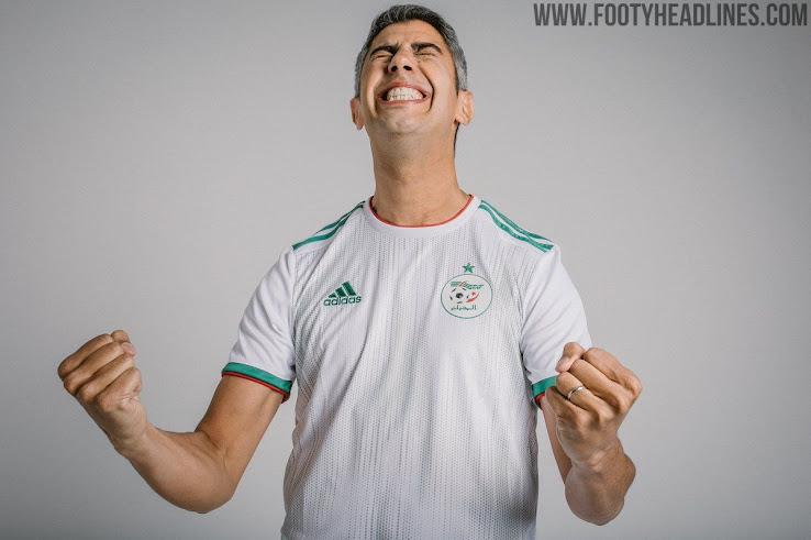 Afrika Nur Fussball Trikots 2019 Enthüllt Cup Algerien srdhtQCxoB