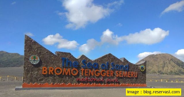 The Sea of Sand In Bromo Tengger Semeru - Blog Mas Hendra