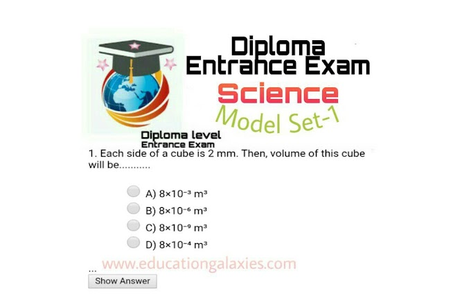 Model Questions Of Science For Diploma & Bridge Course
