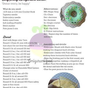 Amigurumi food pretzel amigurumi food free crochet pattern easy peasy amigurumi donut free cro ccuart Image collections