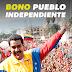 Bono pueblo Independiente 2019 con el carnet de la patria
