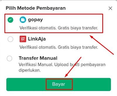 Metode Pembayaran Bibit