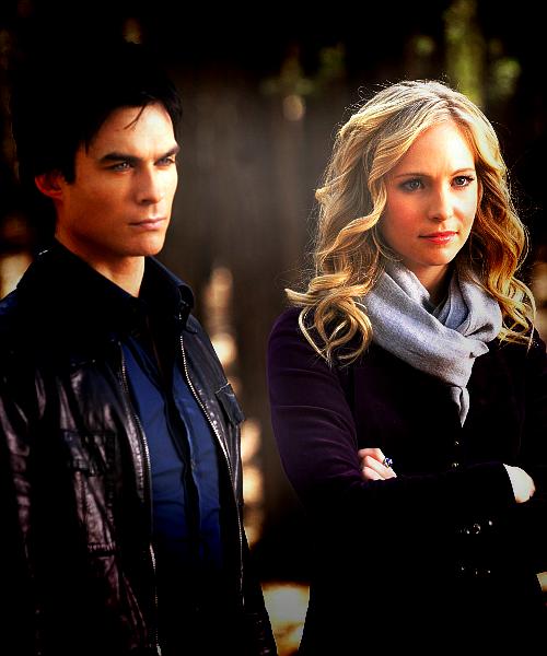 Spot Light The Vampire Diaries Caroline Vs Damon