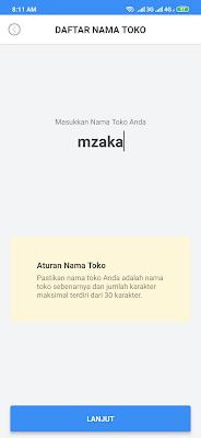 cara melakukan pendaftaran toko dari aplikasi Payfazz