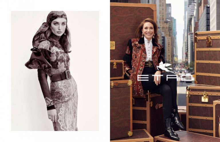 Etro launches fall-winter 2019 campaign