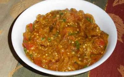 Brinjal Bharta Recipe