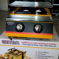 Getra ET-K111 /-Kompor Sosis Bakar -/ Getra-2-Tungku