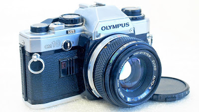 Olympus OM10 (Chrome) Body #829, Zuiko Auto-S 50mm 1:1.8 #070