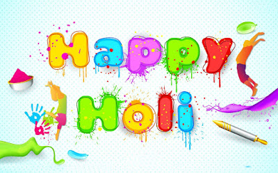 Happy Holi Images for Desktop Download