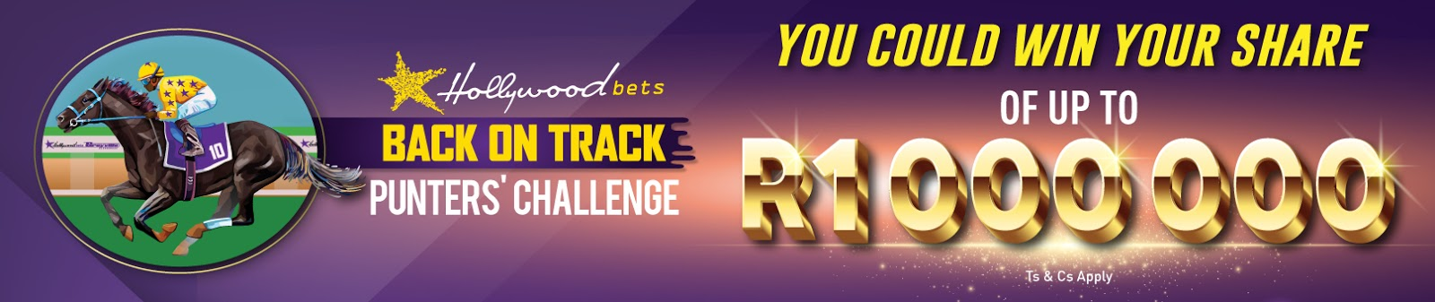 Hollywoodbets Back on Track Punters' Challenge