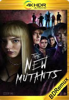Los nuevos mutantes (2020) [4k Remux HDR] [Latino-Inglés] [LaPipiotaHD]