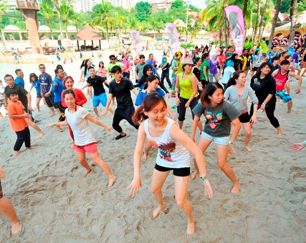 Malaysian Get Fit & Healthy, fitness, health, malaysia fitness activity, dance