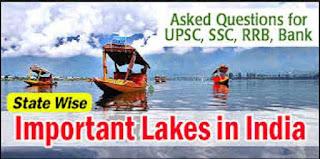 Lakes in India PDF
