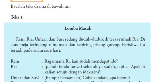 Kunci Jawaban Hal 261 263 Kelas Xi Bahasa Indonesia Kurikulum 2013 Revisi 2017 Sma Smk Terbaru