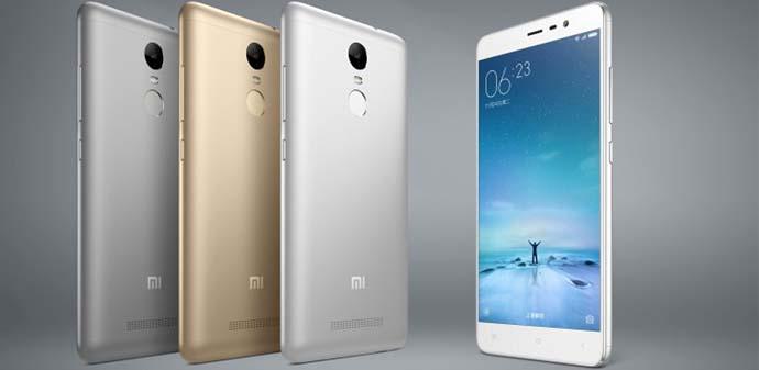 Smartphone Xiaomi Redmi Note 3