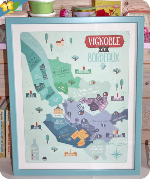 Affiches Vignobles de Bordeaux - La Fabriken