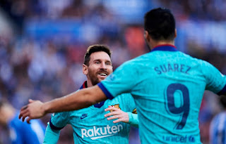 Suarez tiết lộ sự thật: Messi thực sự không muốn đến PSG (Getty Images)