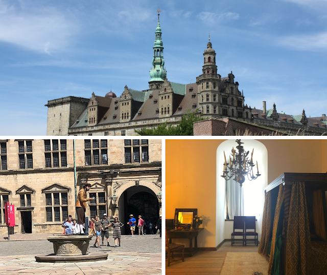 Kronborg Castle Inspired Hamlet's Castle and Sweeps Visitors Up In Royalty and Wonder While Touring the Renaissance Castle in Helsingor, Denmark