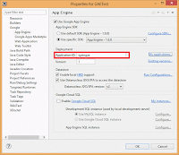 55.9 Provide Application Identifier in Eclipse