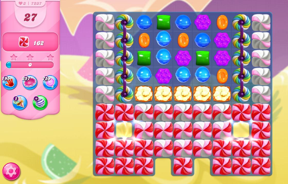 Candy Crush Saga level 7237