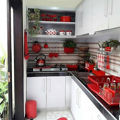 dapur minimalis ruangan cerah