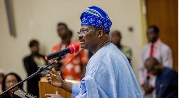 """Stop Brooding Over Our """"Questionable Loss,"""" In Last Election - Governor Abiola Ajimobi Tells Supporters"""