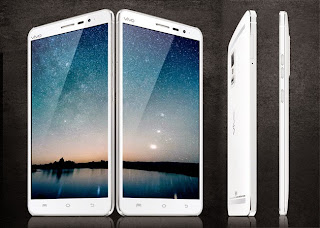 Published images smartphone's performance Vivo Xplay 5S
