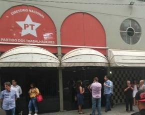 Polícia Federal faz operação de busca na sede do PT em São Paulo