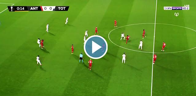 Royal Antwerp FC vs Tottenham Live Score