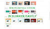 How to install a custom template in blogger easily